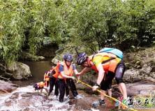 逃离城市高温!去桃江南浮村感受8公里溯溪,把夏天踩在水里