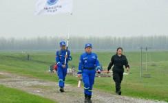 南县蓝天救援队二十三公里徒步集训活动日