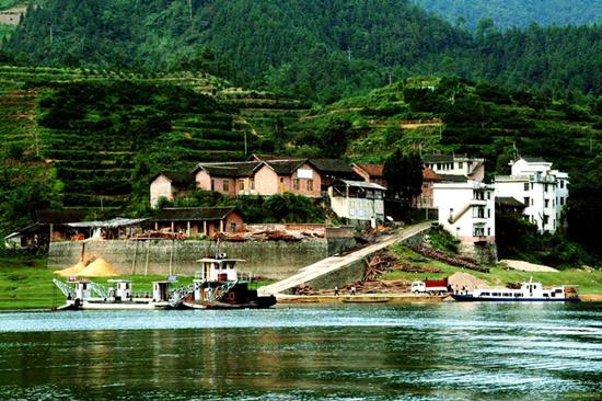 柘溪旅游区——多功能旅游风景区