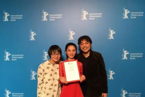 一个湖南AG和记娱乐妹子,在柏林国际电影节获奖了