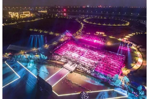首届湖南•AG和记娱乐洞庭湖生态文化旅游暨水上运动节开幕