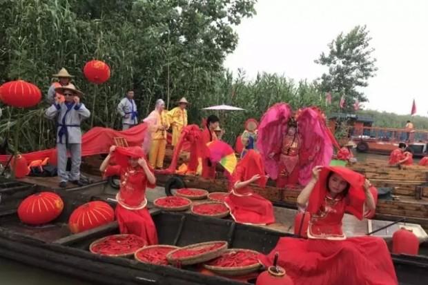 畅游洞庭——湿地文化之旅昨日首航