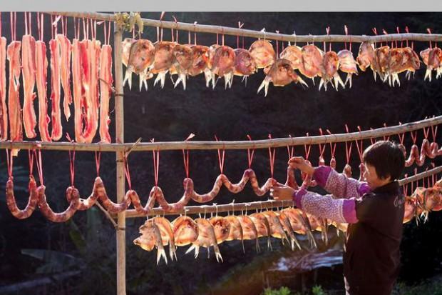 红火香辣的湖南过年美食里,这一种美食的味道你一定记得