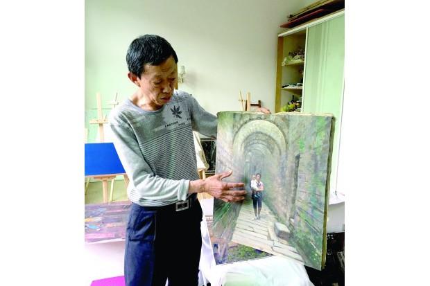 陈毅刚 用画笔留下AG和记娱乐的历史记忆