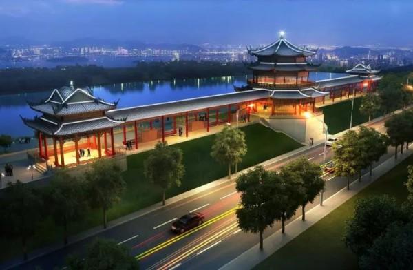 文昌广场项目开工奠基仪式举行 可望成为城区又一旅游亮点