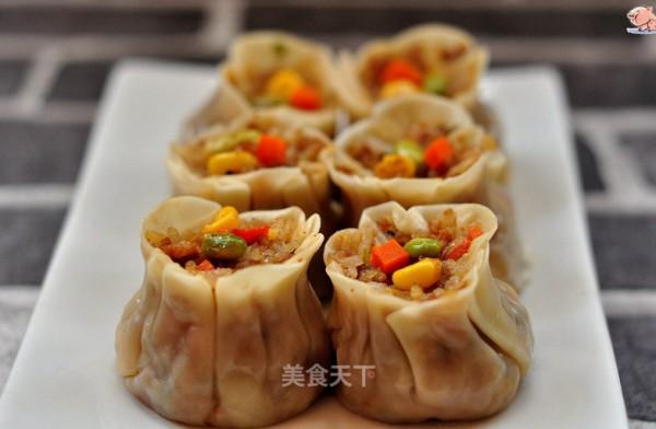 饺子皮糯米烧卖