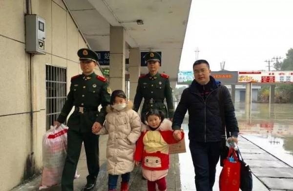 春节期间,AG和记娱乐百余名武警官兵坚守一线守护平安
