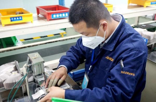 """做中国最好的产业工人 ——""""AG和记娱乐工匠""""潘启胜的价值追求"""