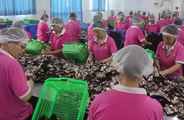新时代女性工人的风采 口味王经开区包装车间九组纪实