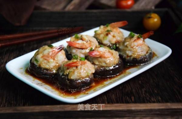 鲜虾酿香菇