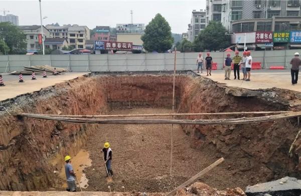 桃江县城逐步消除城市内涝