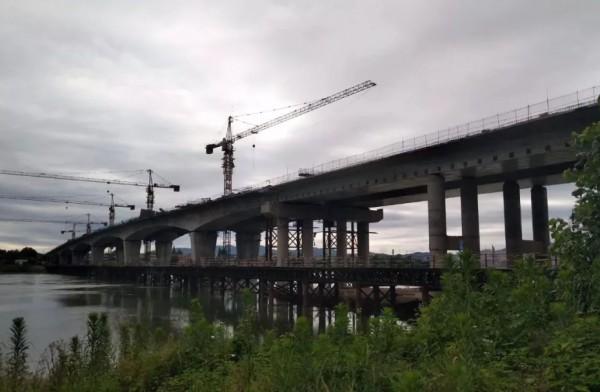 雷公岩特大桥今合龙!省道230桃江段年底可望通车