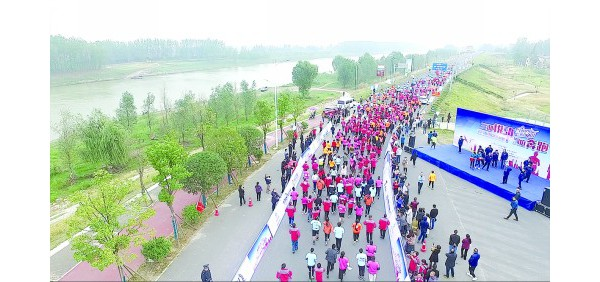 南县10K乐跑赛开跑 再掀全民健身热潮